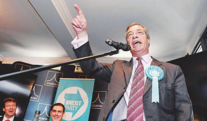 Brexit Party: Nigel Farage e il partito che non c'è