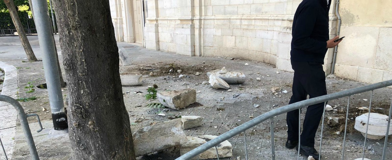 Terremoto Puglia, scossa di magnitudo 3.9 a quattro chilometri da Barletta: danni alla chiesa di S. Domenico a Trani