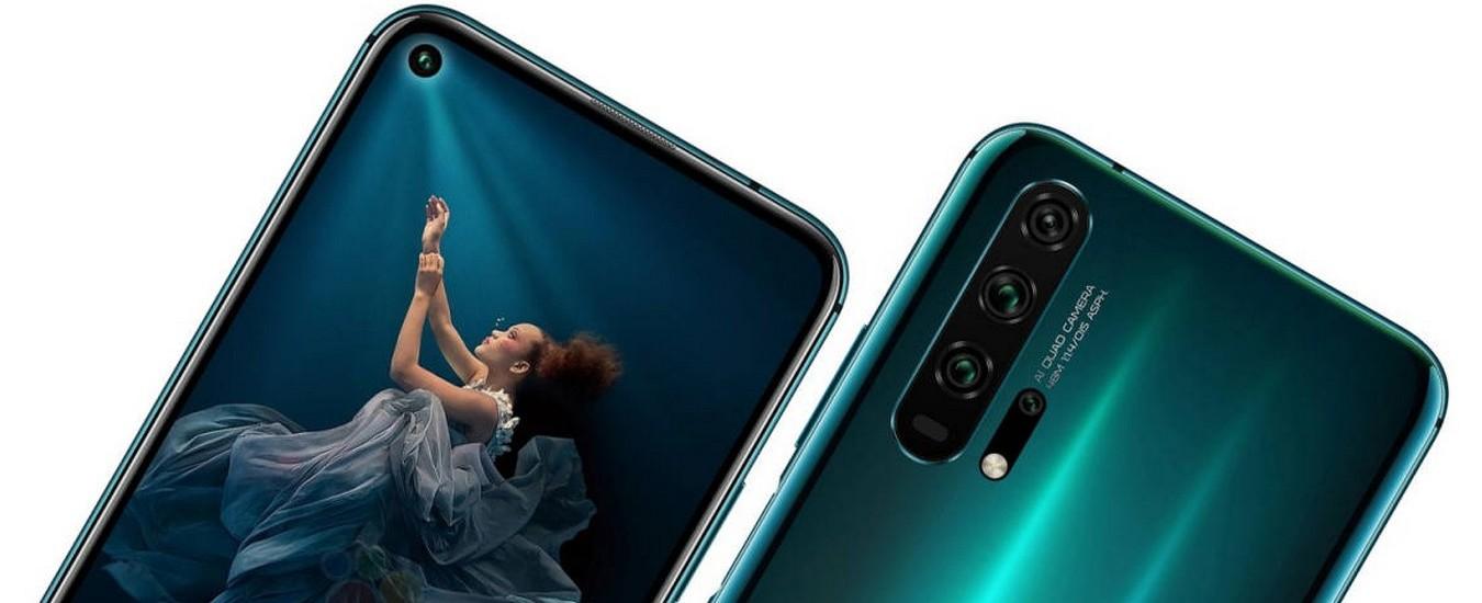 Honor 20 e 20 Pro, ecco i nuovi smartphone che costano 499 e 599 euro