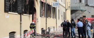 """Incendio Mirandola, Salvini: """"Arrestato nordafricano. Porti chiusi"""". M5s: """"Perché l'autore era libero? Viminale spieghi"""""""