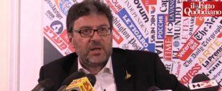 """Governo, Giorgetti: """"Rimpasto? Non ci interessa. Con noi al 30% subito l'autonomia, la vecchia Lega la aspetta"""""""
