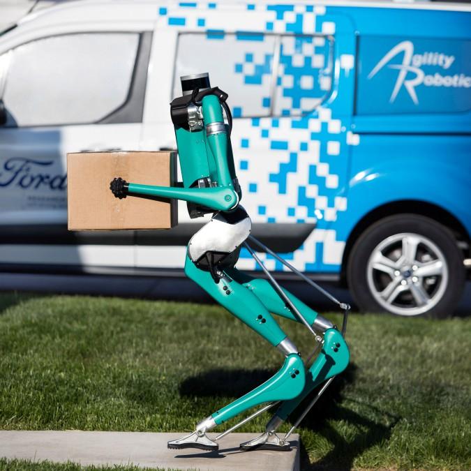 Ford Digit, il robot fattorino che viaggia a guida autonoma – FOTO