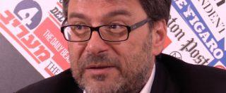 """Lega, Giorgetti: """"49 milioni? Tutti i bilanci sono certificati e pubblici da quando Roberto Maroni prese il partito"""""""