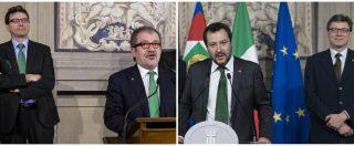 Lega, tra Giorgetti e Maroni scambi di accuse e messaggi incrociati sui 49 milioni