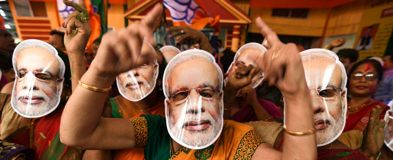 Elezioni India, vittoria per il premier uscente Narendra Modi. Il suo partito da solo ottiene la maggioranza dei seggi