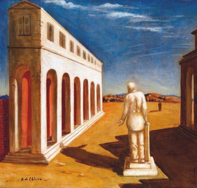 Lunga vita (artistica) al maestro De Chirico
