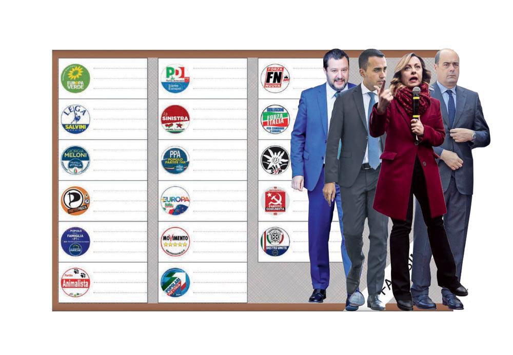 In Edicola sul Fatto Quotidiano del 24 Maggio: Toh, Lega senza programma. Sintonia Pd-FI su Bce e migranti