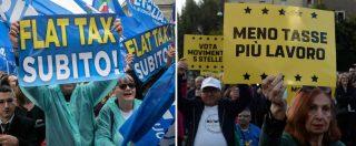 """Europee, Di Maio chiude a Roma con Casaleggio e Di Battista. Salvini al Nord: """"Da lunedì torniamo a lavorare"""""""
