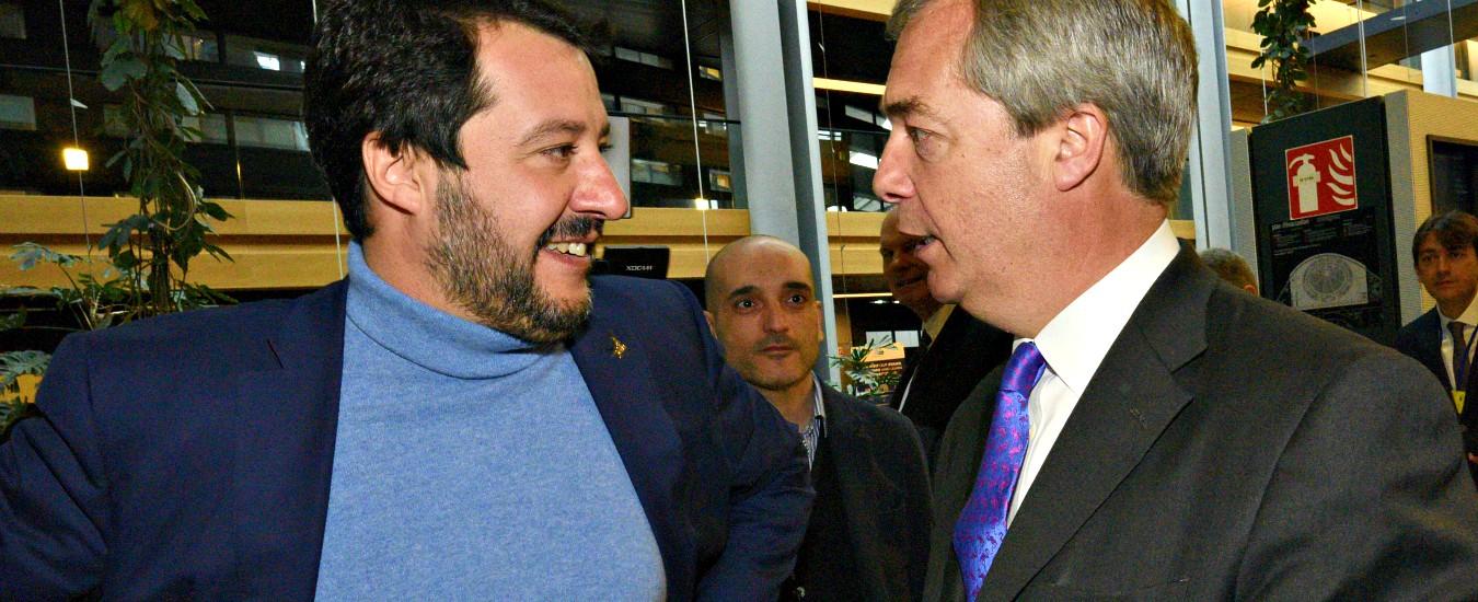 """Europee, Salvini: """"In Italia con Conte, in Ue già in parola con Farage"""". Orban: """"Possibile un'alleanza Lega con Ppe"""""""