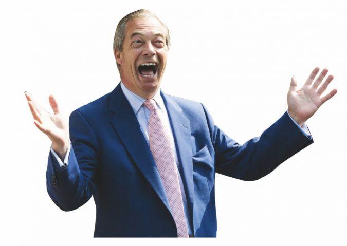 Farage la star si prepara per Strasburgo