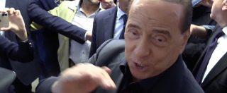 """Milano, Silvio Berlusconi al seggio: """"Sono un sentimentale, voto dove venivo sempre con la mia mammina"""""""