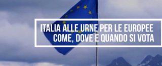 Elezioni Europee, Italia alle urne: come e quando si vota. L'infografica