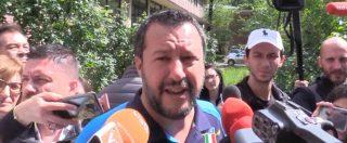 """Milano, Salvini al seggio: """"Mi interessa l'Europa, in Italia non cambia nulla"""". Poi avverte il M5s: """"Da domani stop insulti"""""""