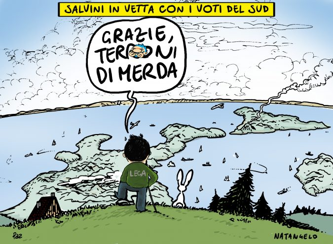 Salvini in vetta