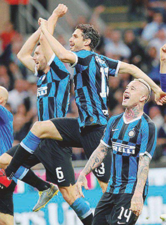 Inter in Champions all'ultimo respiro: Milan beffato, Dea terza, Empoli in B