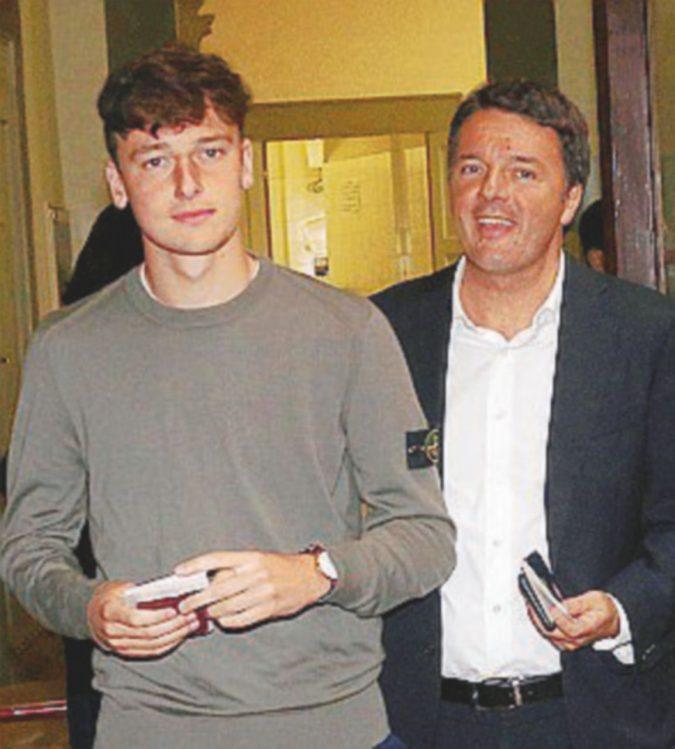 Renzi e Grillo la prima volta dei figli