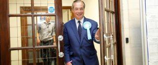 Elezioni Regno Unito, Brexit Party di Nigel Farage al 32%. Catastrofe dei Tories: sprofondano all'8%