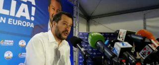 """Salvini assicura tenuta del governo: """"Ho sentito Conte, non è in discussione nostra fedeltà. Con M5s superiamo il 50%"""""""