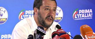 """Europee 2019, Salvini: """"Sarà periodo economico complicato, consapevoli delle difficoltà che ci aspettano"""""""