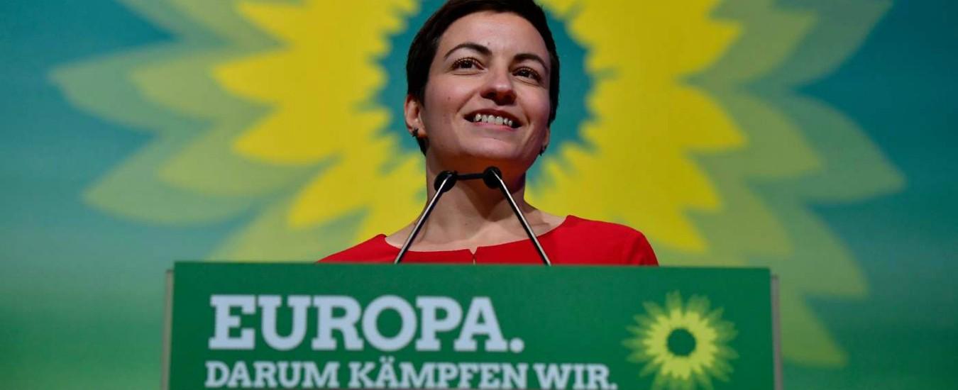 Europee: ascesa record dei Verdi dalla Germania all'Irlanda, mentre in Italia restano lontani dalla soglia del 4%