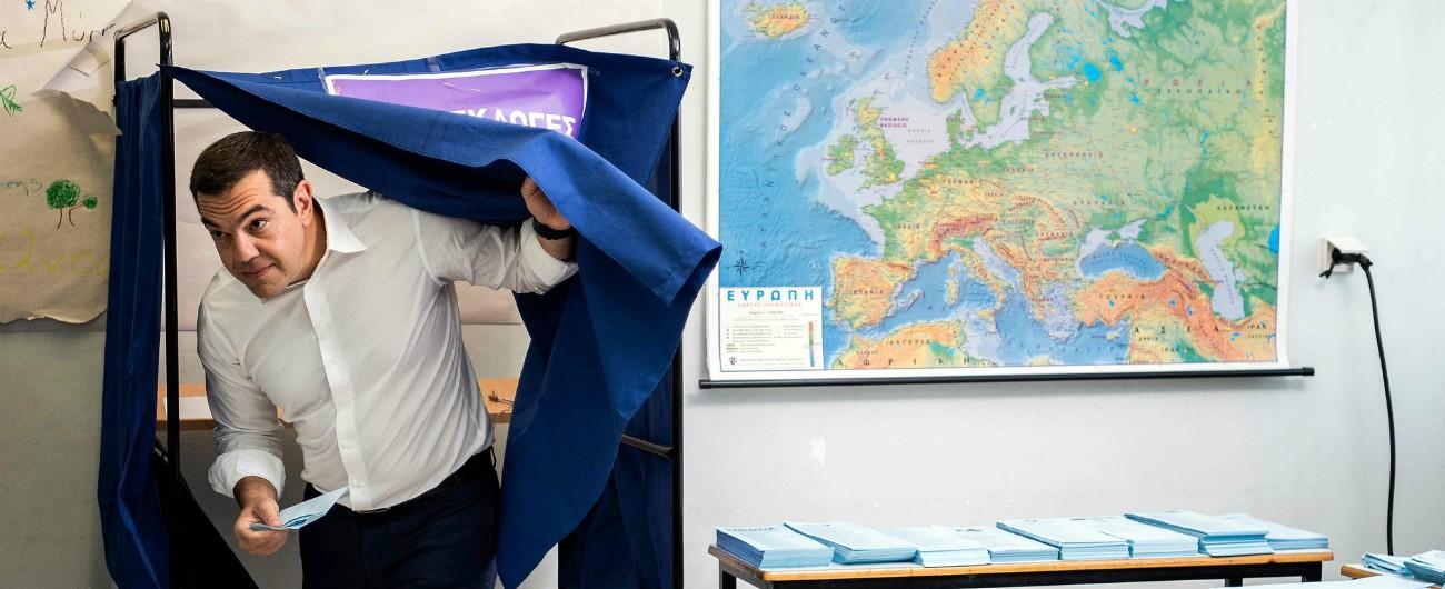 Grecia, Tsipras battuto dal centrodestra di Mitsotakis. Che promette tagli alle tasse ed è vicino alla Merkel
