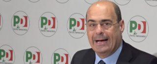 """Zingaretti: """"Pd non aumenta voti? Bipolarismo Lega-M5s finito. Primo passo per alternativa"""". E provoca i 5 Stelle"""