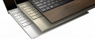 HP fa tornare di moda il legno con i nuovi notebook Envy Wood