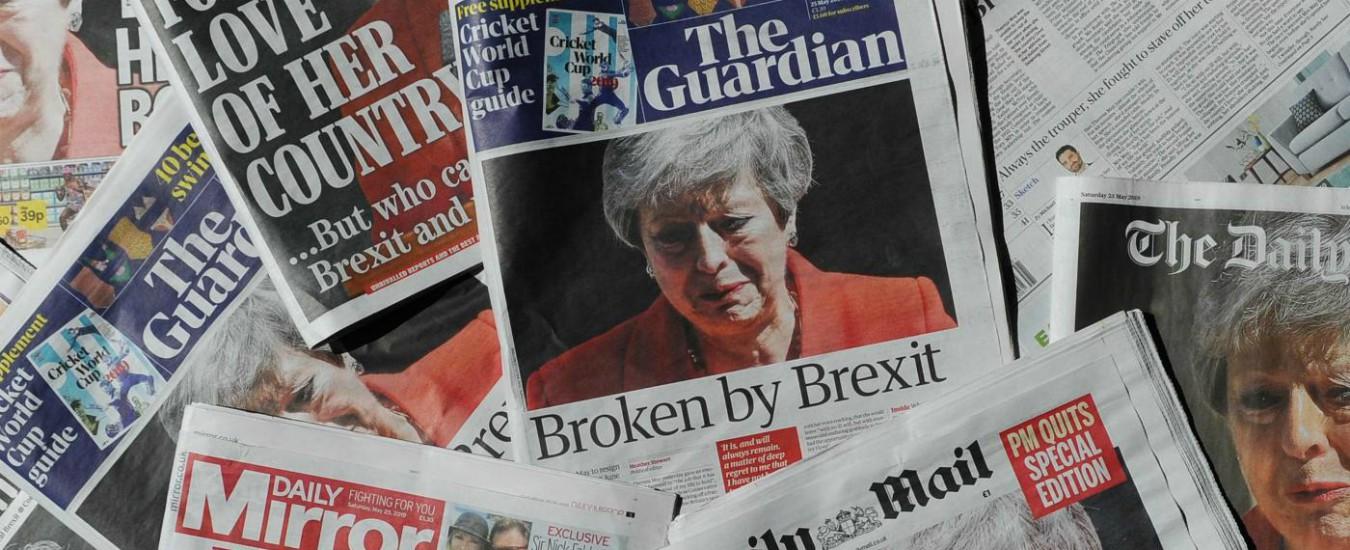 Via la May ed Europee choc. Ma la Brexit è ancora un rebus