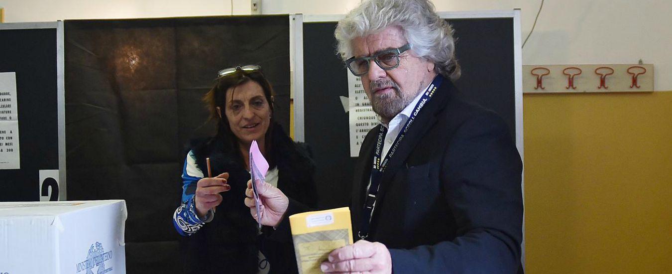 Grillo: 'Luigi continui la battaglia, no espiazioni. Paghiamo lo Spazzacorrotti'. Casaleggio: 'Voto online scelta coraggiosa'
