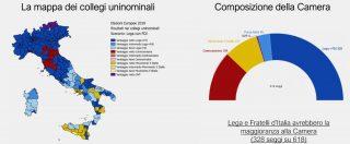 """""""Lega e Fratelli d'Italia senza Forza Italia sarebbero maggioranza in Parlamento"""". Simulazione basata su voti alle Europee"""