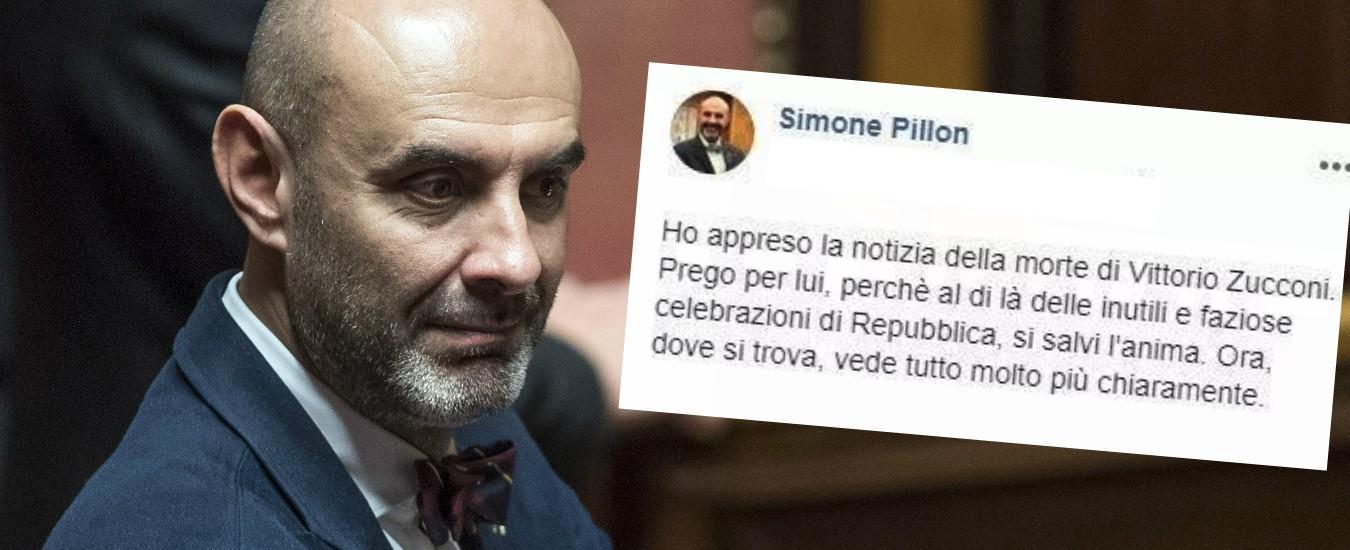"""Zucconi, il leghista Pillon: """"Prego perché si salvi l'anima"""". Travolto dallo sdegno: """"Vendetta vigliacca"""""""