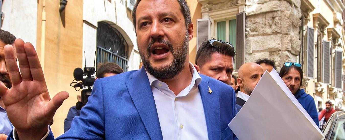 """Onu, Salvini scrive a Conte per chiedere """"presa di posizione del governo"""" contro la lettera di critiche al decreto Sicurezza bis"""