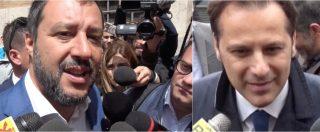 """Governo, Salvini: """"Di Maio delegittimato dal voto su Rousseau? Si esprimano iscritti M5s. Mi interessa lavorare"""""""