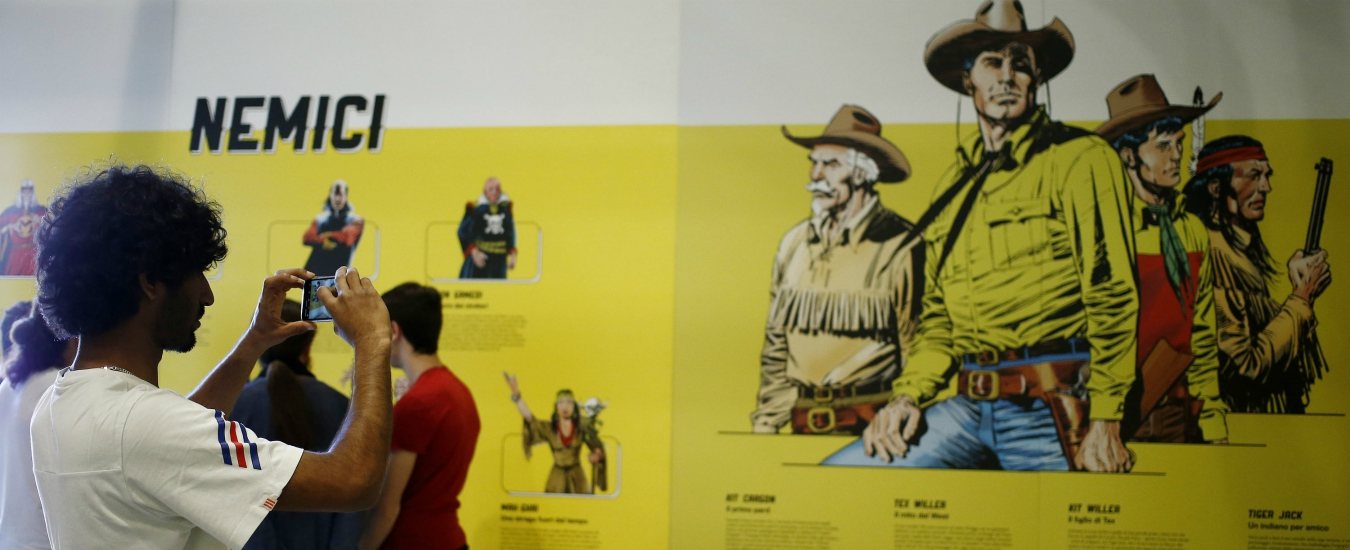 Tex, per i 70 anni del ranger ecco una mostra al festival del fumetto di Roma