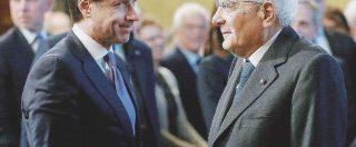 Il Colle vuole congelare la crisi: teme il governo tra Lega e FdI