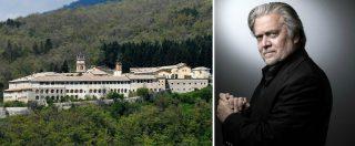 Certosa di Trisulti, il ministero la toglie all'associazione vicina a Steve Bannon: voleva usarla per la scuola di sovranismo