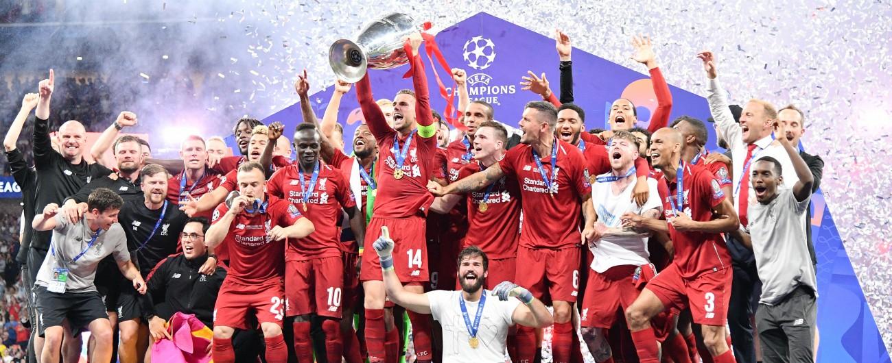 Champions, Liverpool campione per la sesta volta: Tottenham battuto 2 a 0
