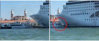 La nave da crociera perde il controllo e aziona la sirena: l
