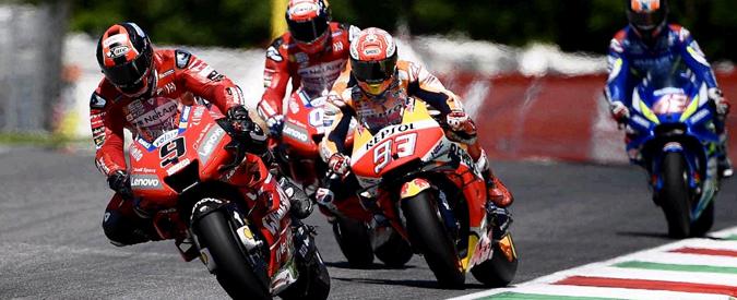 MotoGp Mugello, Petrucci vince per la prima volta davanti a Marquez e Dovizioso. Rossi fuori