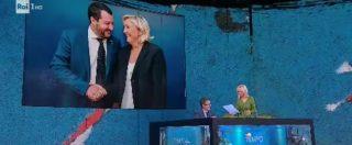 """Luciana Littizzetto legge l'esilarante lettera d'amore di Marine Le Pen a Salvini: """"Uomo di pancia, uomo di sostanza"""""""