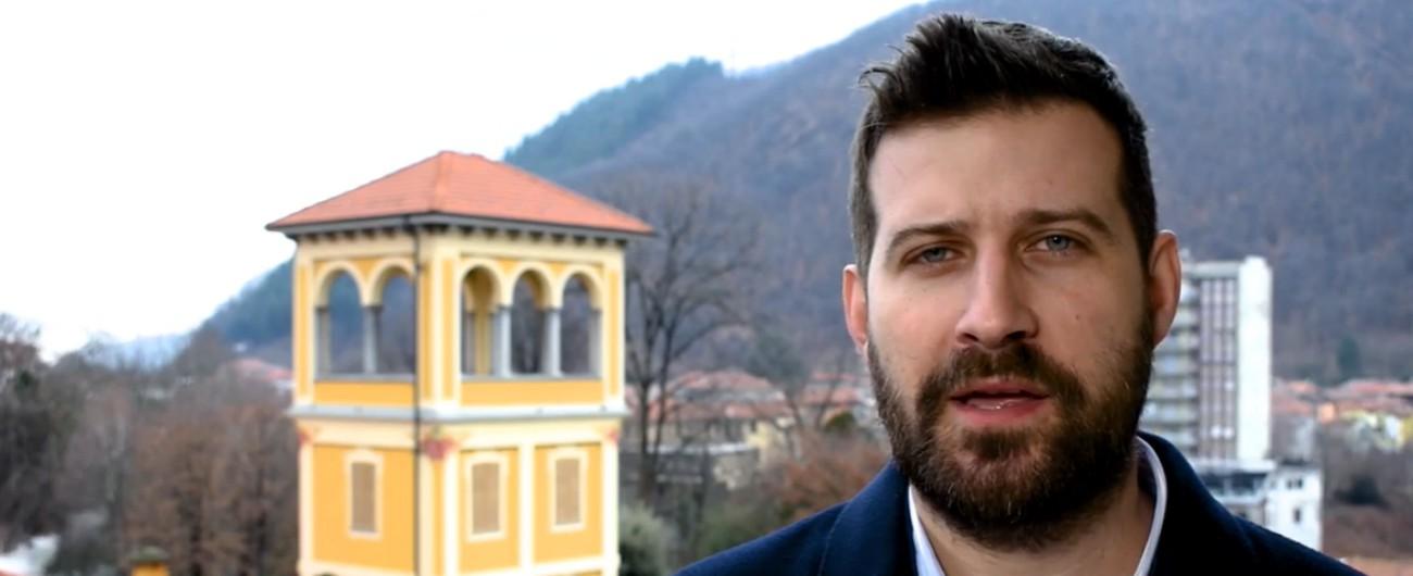 """Vercelli, il deputato Tiramani (Lega) posta fotomontaggio della candidata Pd. I dem: """"Sessismo"""". E lo sfidante la fa cancellare"""