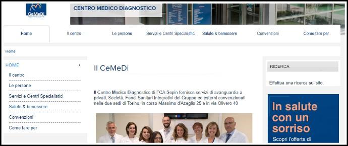 Fca vende il Centro medico diagnostico di Torino. Dava assistenza sanitaria a dipendenti ed ex dipendenti