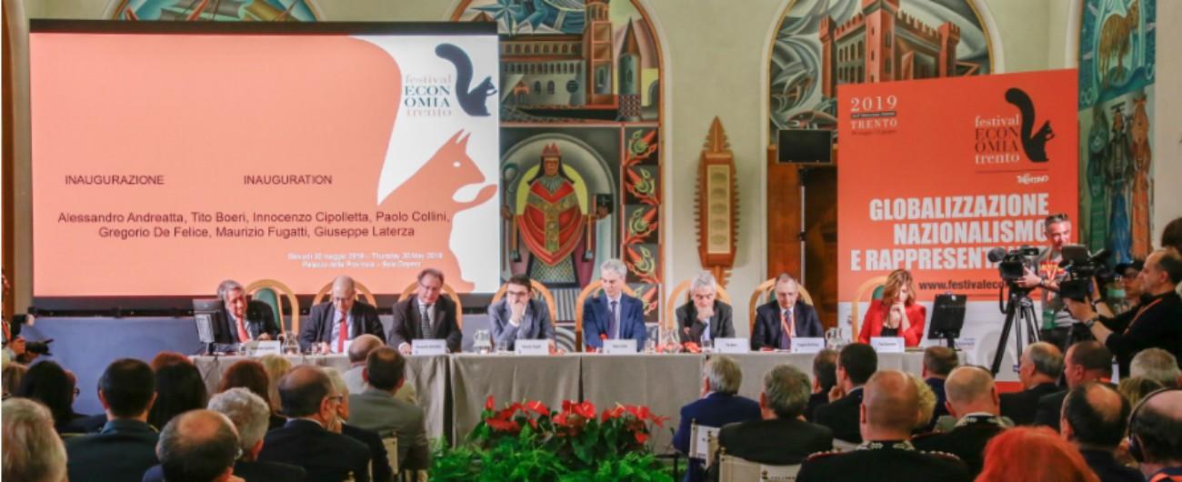 Festival dell'Economia di Trento, la quattordicesima edizione conta quasi 5 milioni di accessi web