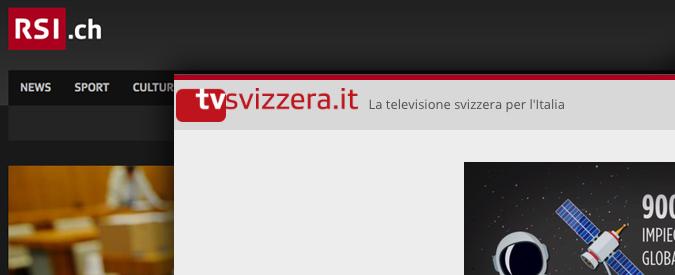 Rsi, l'Italia non può più vedere la tv svizzera. Stop al segnale sul digitale terrestre che arrivava oltreconfine