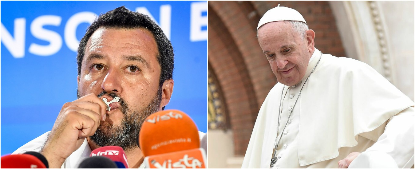 Salvini si muove da antipapa. E dietro c'è una strategia precisa