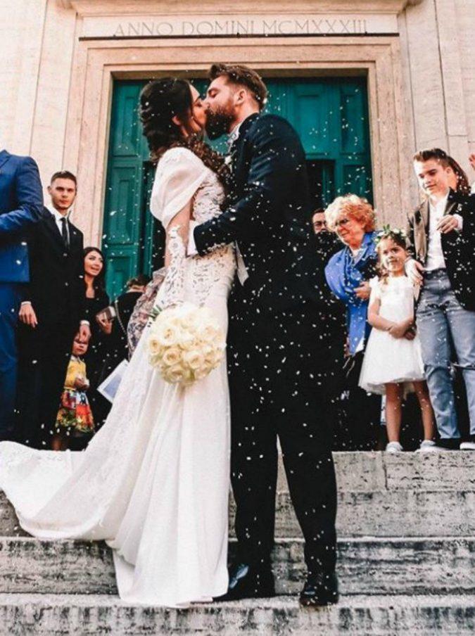 Niccolò Presta e Lorella Boccia, il manager e la ballerina sono marito e moglie. Ma tra gli invitati non c'è Paola Perego