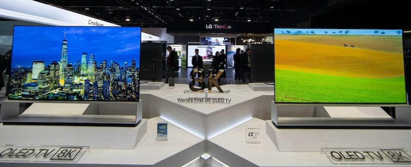 TV LG 8K da 88 pollici in Europa a fine anno, fate spazio in soggiorno