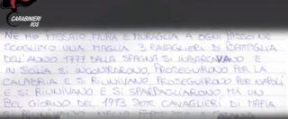 Maxi operazione del Ros a Roma e Catania, colpo al clan Fragalà. Sequestrato pizzino con la formula di affiliazione