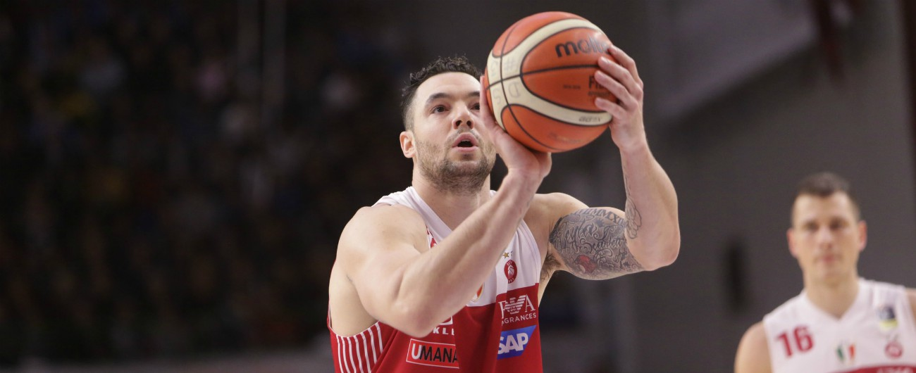 Basket, positivo all'antidoping l'ala di Milano e della Nazionale Christian Burns