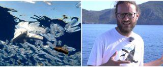 """Isola d'Elba-Capraia, il mare è una """"zuppa di plastica"""": la videodenuncia di Greenpeace"""